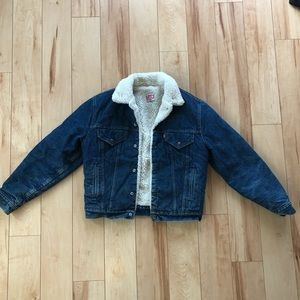 Levi Sherpa denim jacket